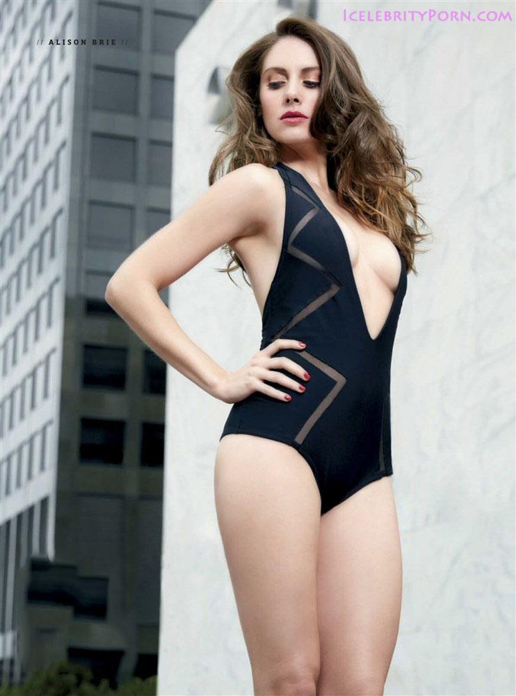 ALISON BRIE Nude Desnuda xxx Porn Sex Tape (5)