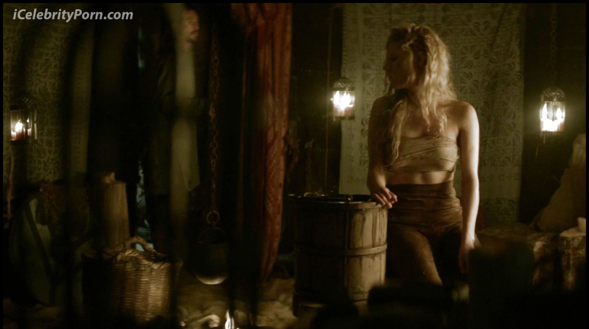 Something is. Vikings tv show nude scene apologise