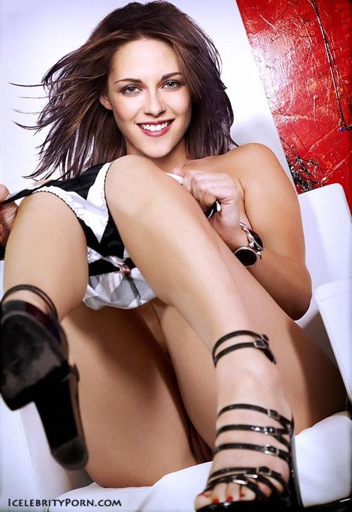 Kristen Stewart nude porn xxx hot pics desnuda porno descuidos pillada (21)