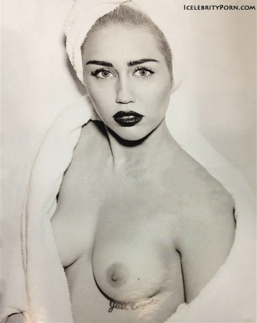 Miley Cyrus nude desnuda xxx hot pics video porno  (35)