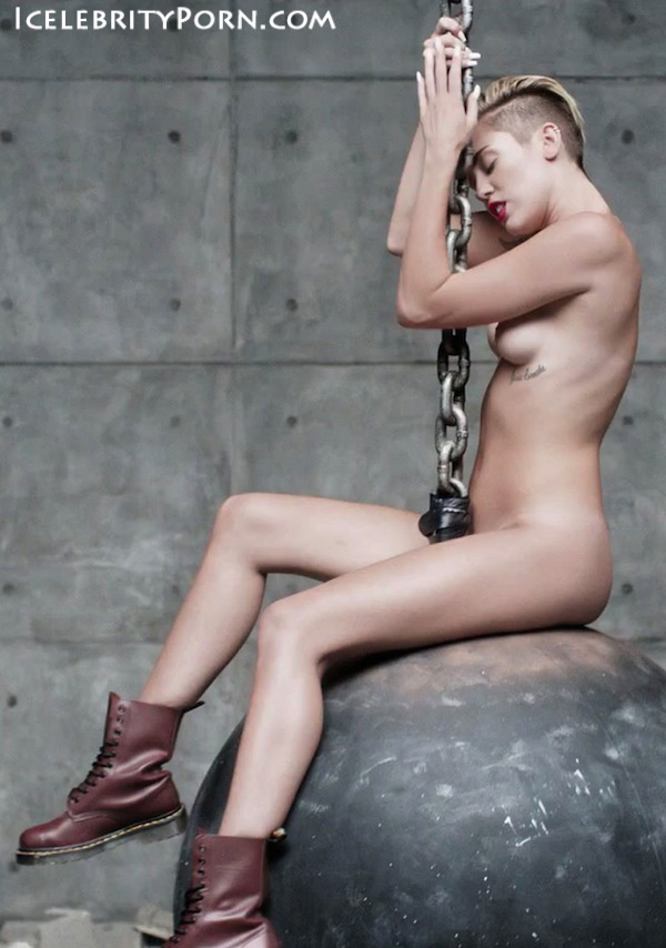 Miley Cyrus nude desnuda xxx hot pics video porno  (68)