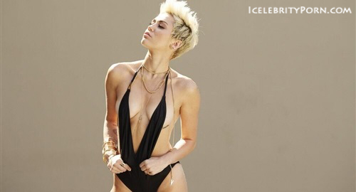 Miley Cyrus nude desnuda xxx hot pics video porno  (82)
