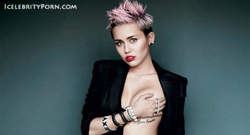 Miley Cyrus nude desnuda xxx hot pics video porno  (83)