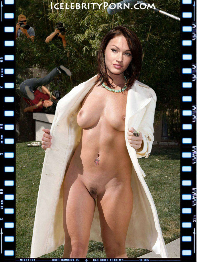 Megan Fox nude desnuda xxx hot pics play boy descuidos (5)