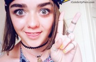 ENTRADA Maisie Williams xxx Video Porn Game of Trone Sex Tape