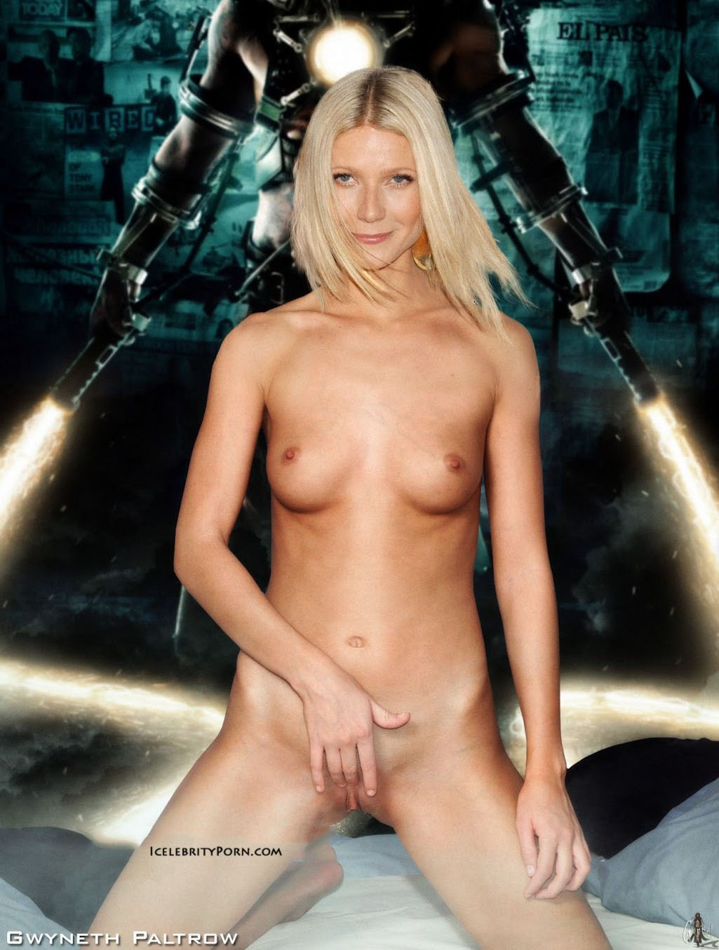 gwyneth paltrow topless naked fakes nude