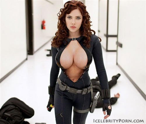 Johansson widow scarlett marvel black