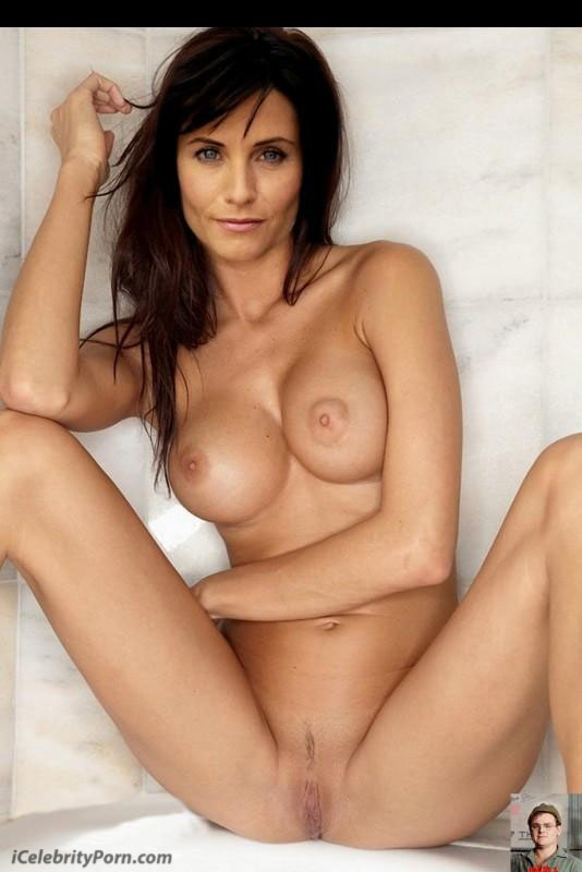 Porn courtney cox