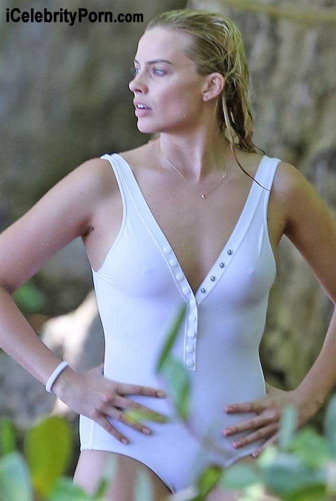 Margot Robbie en Bikini muy Sensual en la Playa -xxx-desnuda-escuadron-suicida-escenas-filtradas-detras-de-camara-porno-video (7)