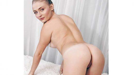 Foto xxx de Sophie Turner mostrando su culo-tetas-vaginas-famosas-juego-de-tronos-escenas-porno