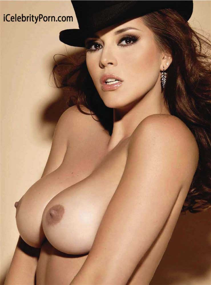 alicia machado en prono