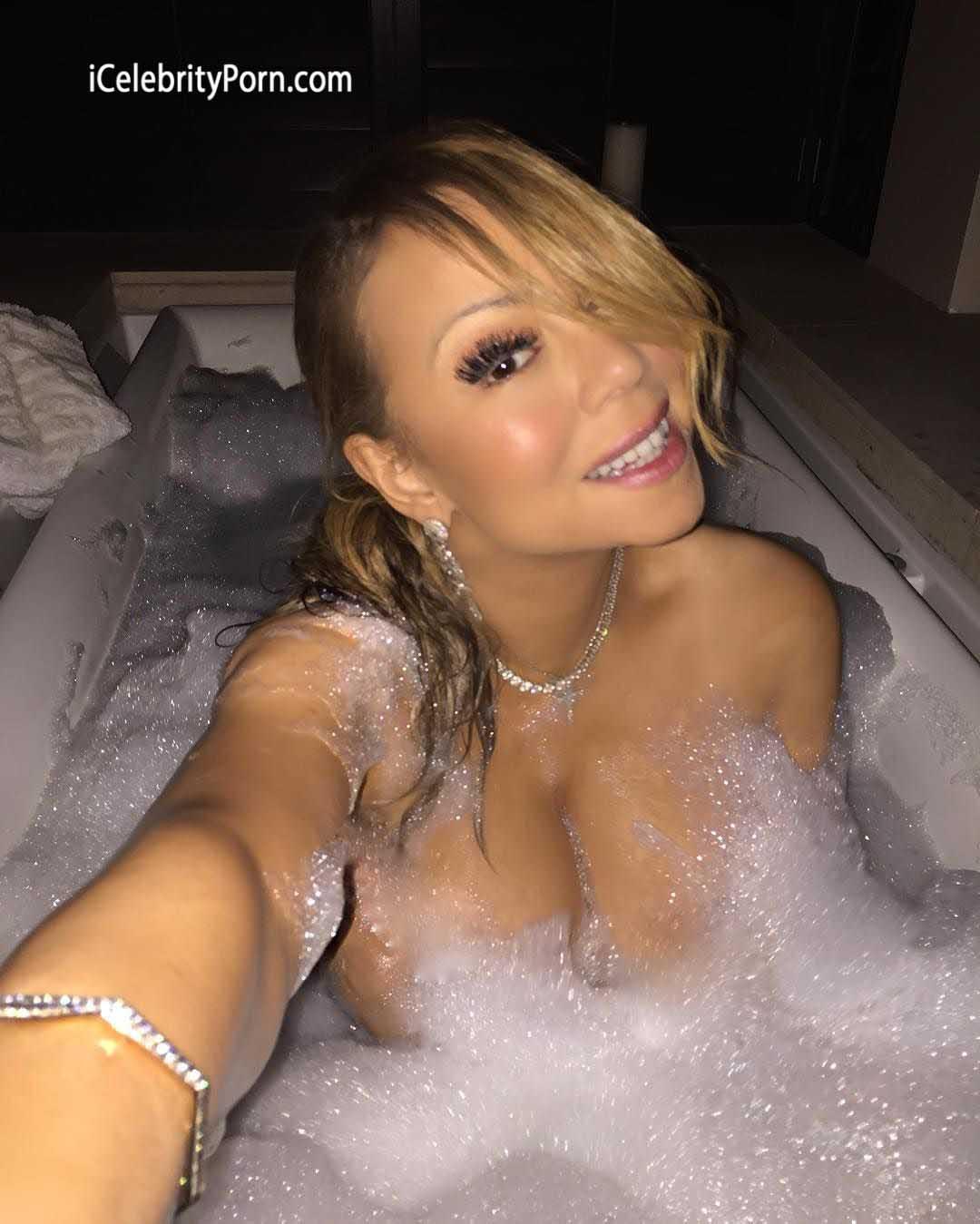 Actriz Porno Rusa Tetas Grandes mariah carey desnuda enseña sus grandes tetas en la bañera