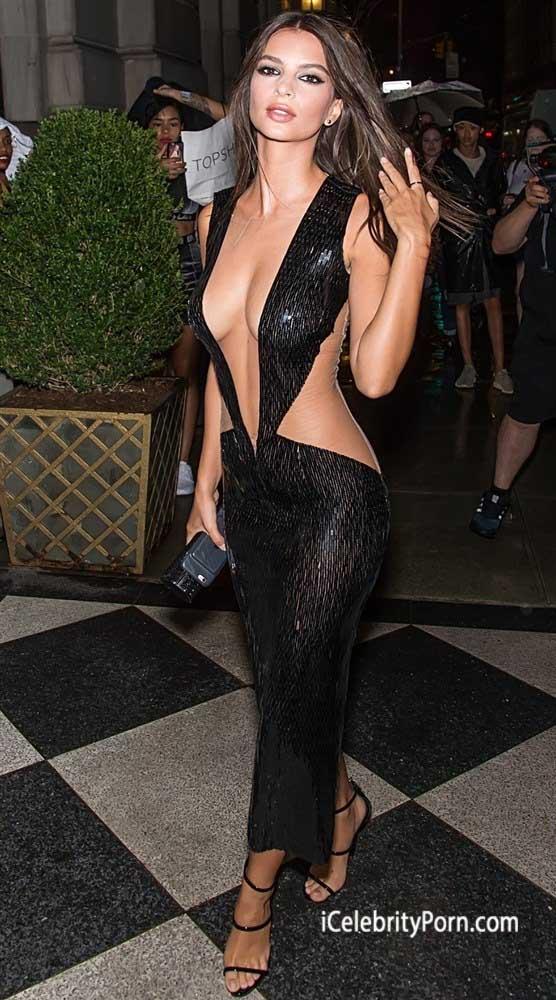TETAS de la modelo Emily Ratajkowski Semi Desnuda -modelos-usa-xxx-fotos-filtradas-icelebrity