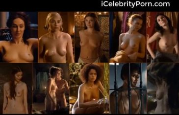 Todas las famosas desnudas de Game of Thrones