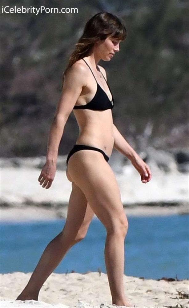 Jennifer Lopez envidia el trasero de Jessica Biel - Si hay