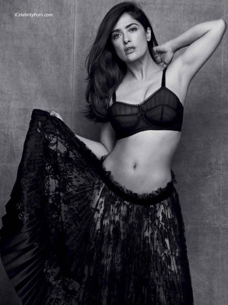 Salma Hayek desnuda - xxx- porno- 2017 - famosa desnuda