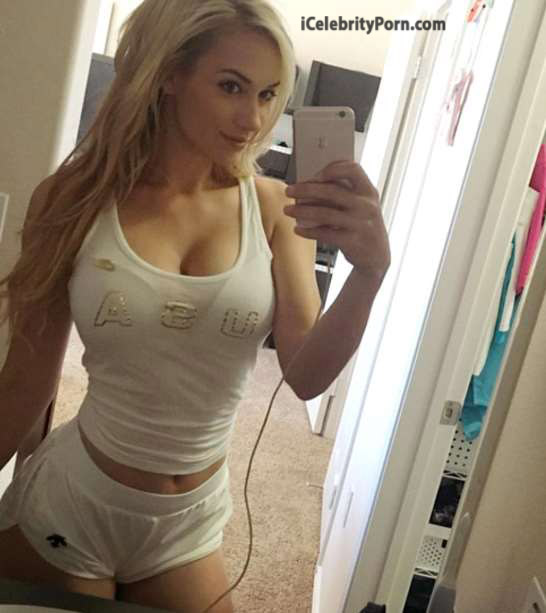 ardiente golfista Paige Spiranac xxx desnuda